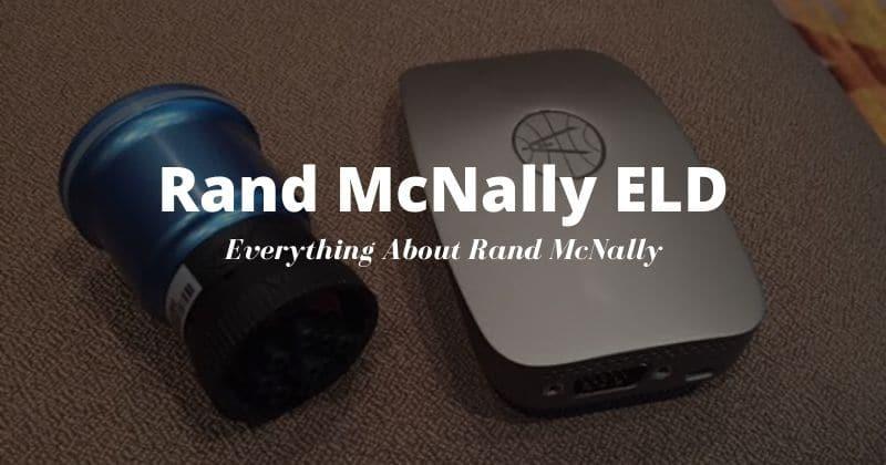 Rand McNally ELD 50 Review